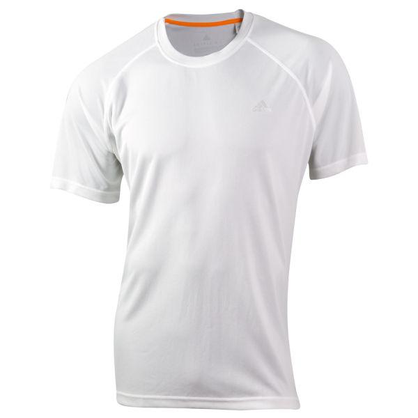 Adidas men 39 s essential classic t shirt white sports for Adidas classic t shirt