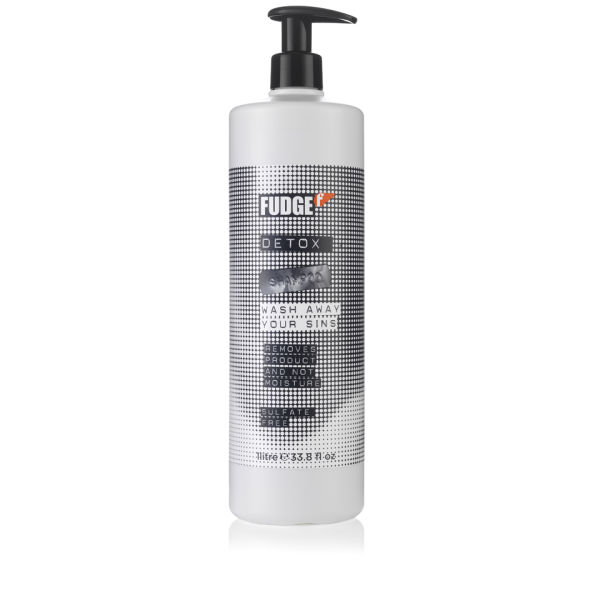 Fudge Detox Shampoo (1000ml) - (Worth £33.00)