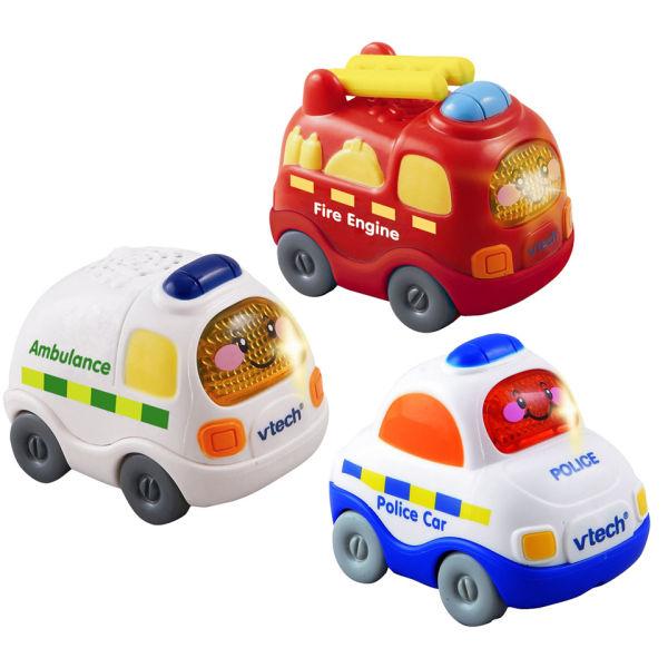 vtech toot toot drivers set 2 ambulance fire engine. Black Bedroom Furniture Sets. Home Design Ideas