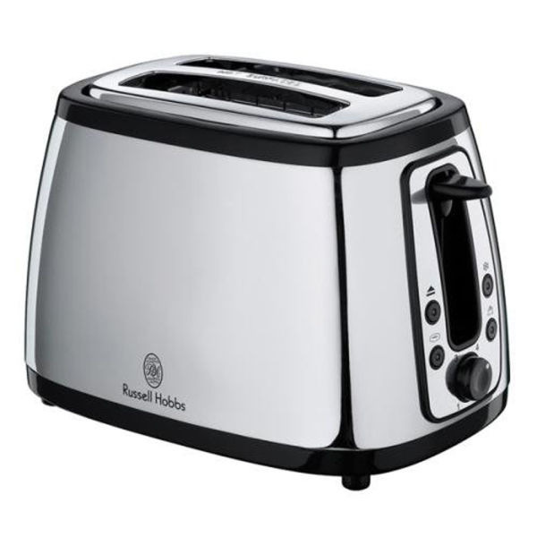 russell hobbs heritage 2 slice toaster classic stainless steel iwoot. Black Bedroom Furniture Sets. Home Design Ideas