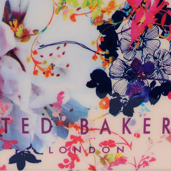 Ted Baker Flocon Summer Bloom Print Tote Coral
