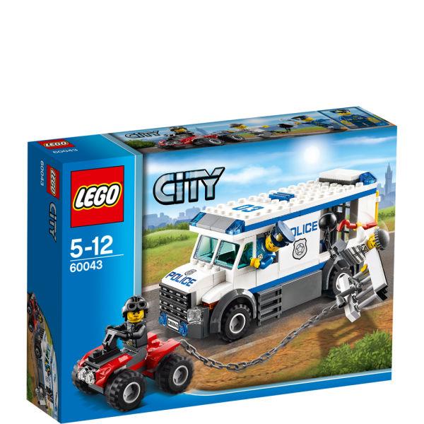 Lego City Police Prisoner Transporter 60043 Toys