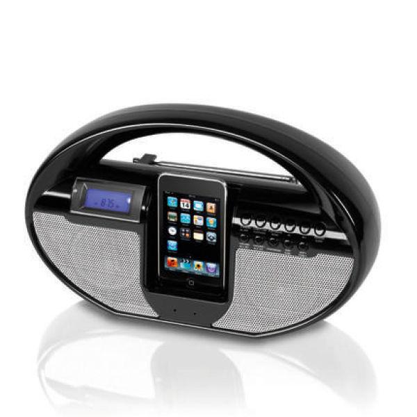 itek ipod docking station radio electronics. Black Bedroom Furniture Sets. Home Design Ideas