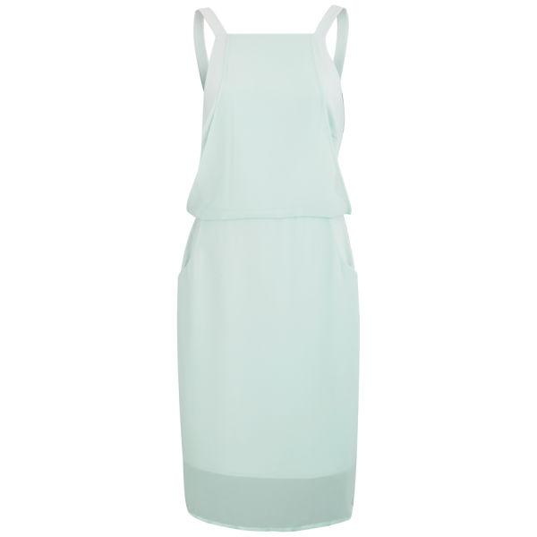 Finders Keepers Women's New Start Midi Dress - Arctic Blue