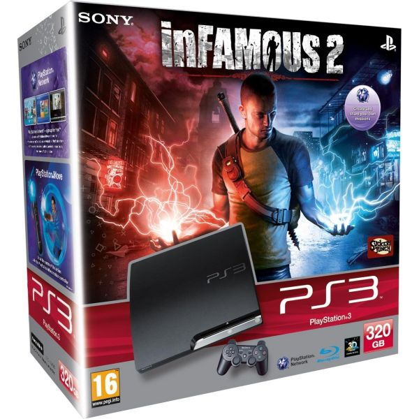 Free Ps3 Console: Playstation 3 PS3 Slim 320GB Console: Bundle (Includes