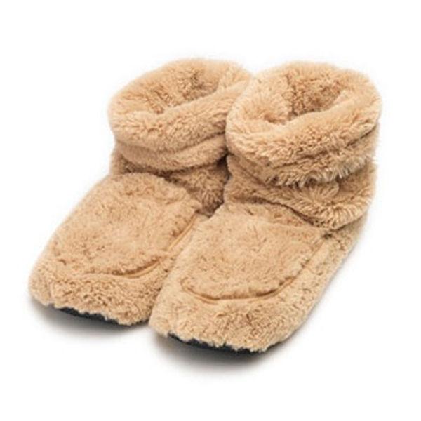 Hot Boots Beheizbare Schuhe Beige Sowia