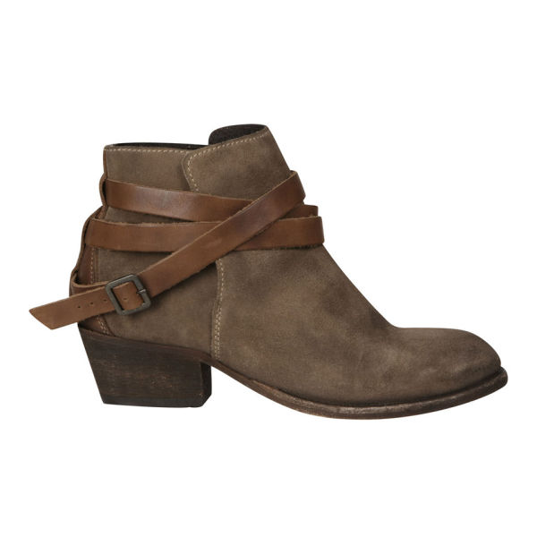 H Shoes by Hudson H Shoes by Hudson Women's Horrigan Suede Ankle Boots - Beige - 8