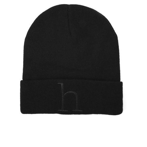 Han Kjobenhavn Men's 'h' Beanie - Black