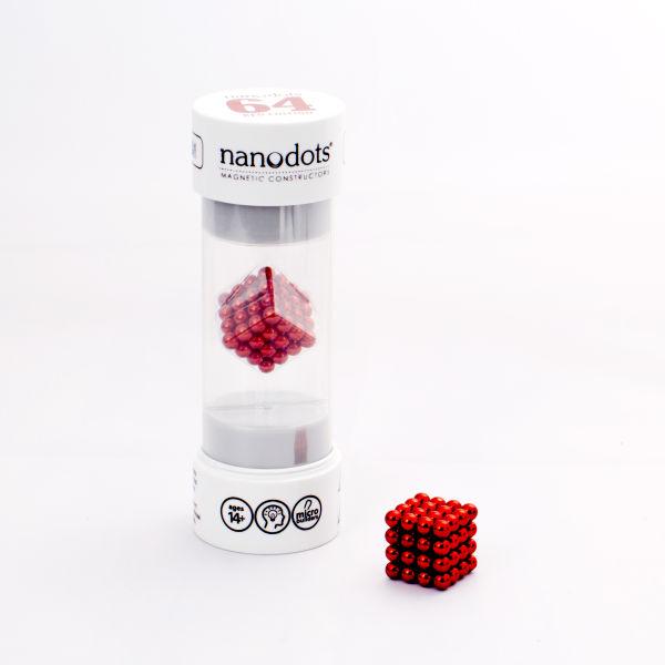 Nanodots Magnetic Constructors Red - 64 Dots