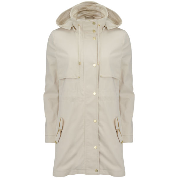vero moda women 39 s magnolia hooded parka jacket oatmeal. Black Bedroom Furniture Sets. Home Design Ideas