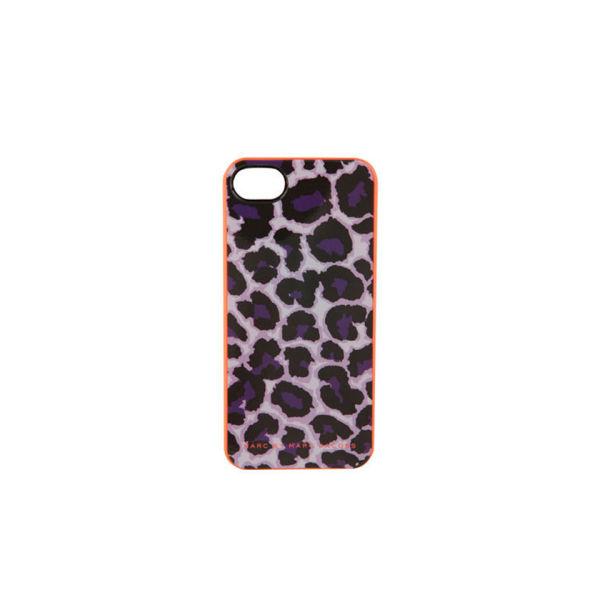 Marc by Marc Jacobs New Jumble Logo Neoprene Tablet Zip iPhone 5 Case - Royal Purple