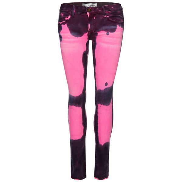 Wildfox Women's Carmen Love Low Rise Skinny Jeans - Foolish Love
