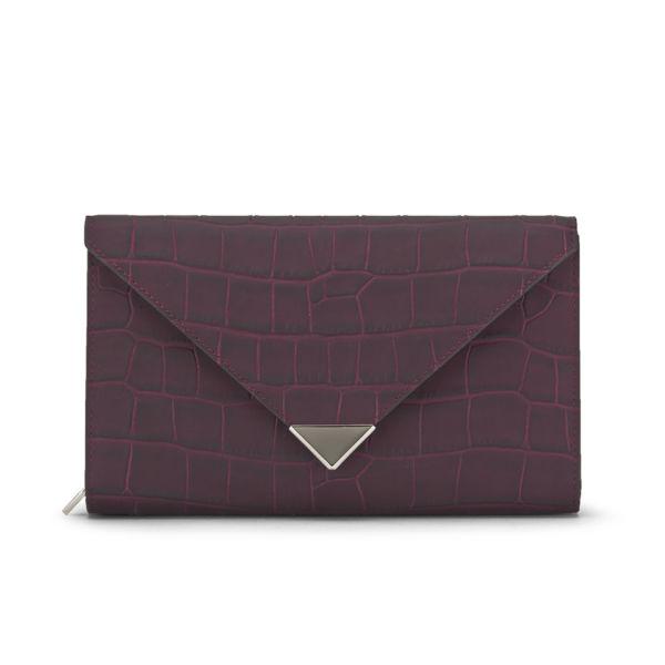 Alexander Wang Prisma Envelope Clutch Bag - Beet