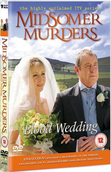 midsomer murders blood wedding dvd zavvicom