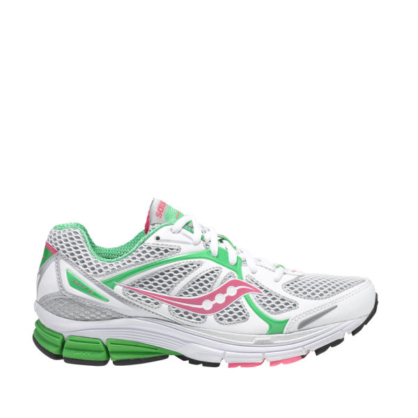 saucony s jazz 16 running shoe white green pink