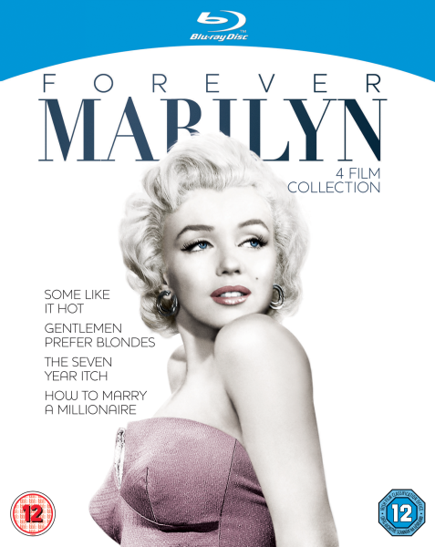 Forever Marilyn Four Film Collection Blu-Ray