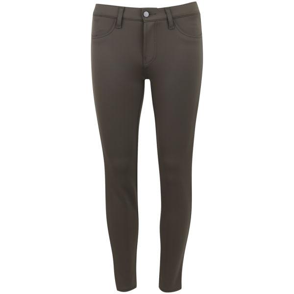 J Brand Women's Mid Rise Super Skinny Jeans - Olive