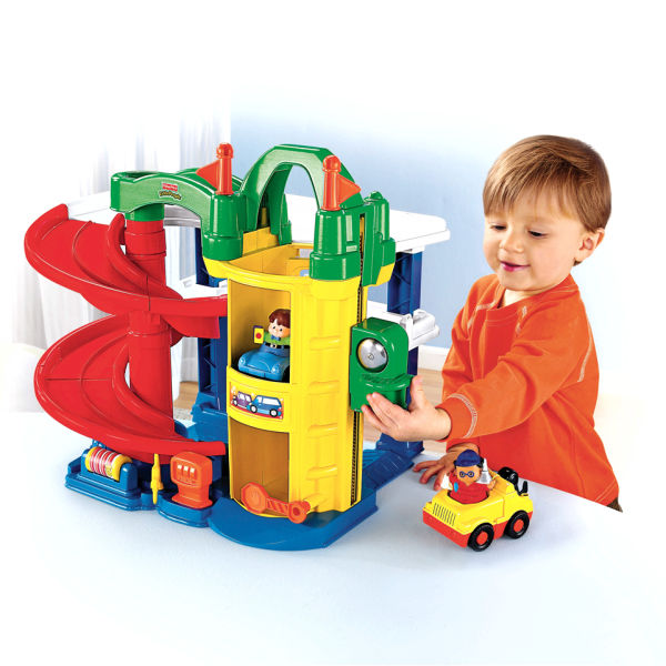 Fisher price little people racin ramps garage toys - Fisher price little people racin ramps garage ...