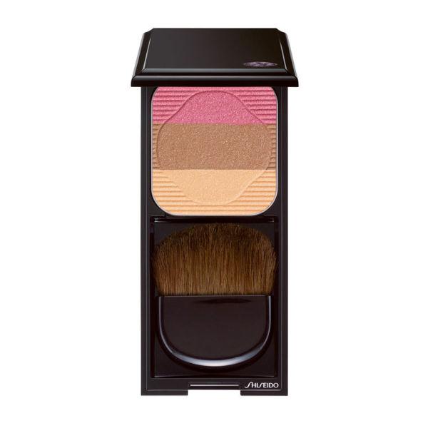 Trío colorete e iluminador Shiseido Face Colour Enhancing Trio RS1 (7g) Plum