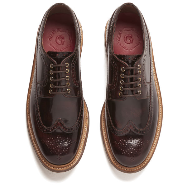 grenson 男士布洛克皮鞋图片