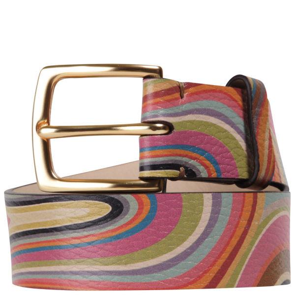 Paul Smith Accessories Women's Barley Belt - Multi Swirl