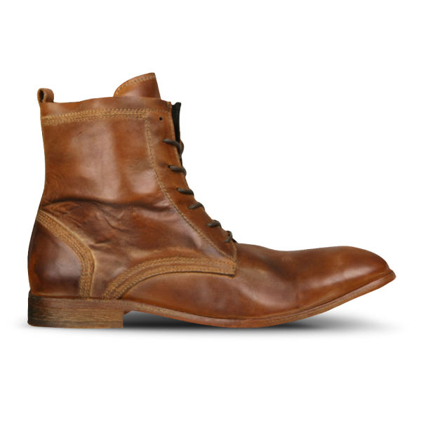 H Shoes by Hudson H Shoes by Hudson Men's Swathmore Calf Leather Boots - Tan - 7