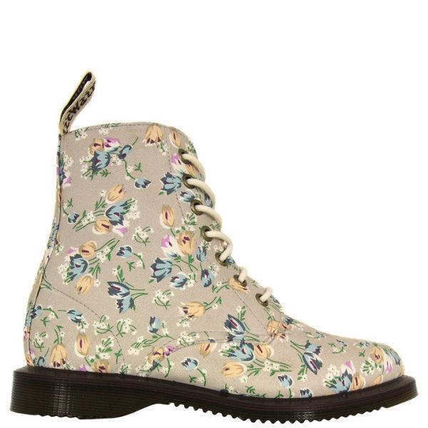 Dr. Martens Womens Kensington Evan Boots - Off White