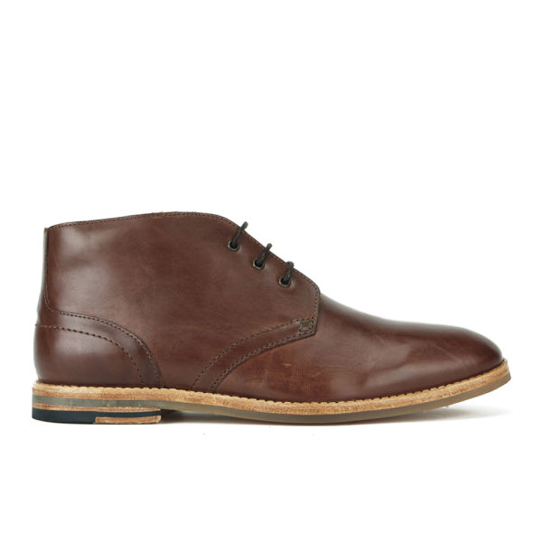 H Shoes by Hudson H Shoes by Hudson Men's Houghton 2 Leather Desert Chukka Boots - Tan - 9