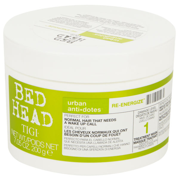 TIGI Bed Head Urban Antidotes Re-Energize Treatment Maske (200g)