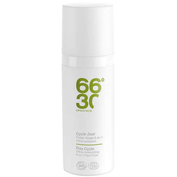 66°30 Organics Day Cycle Ultra-moisturising Face Fluid 50ml