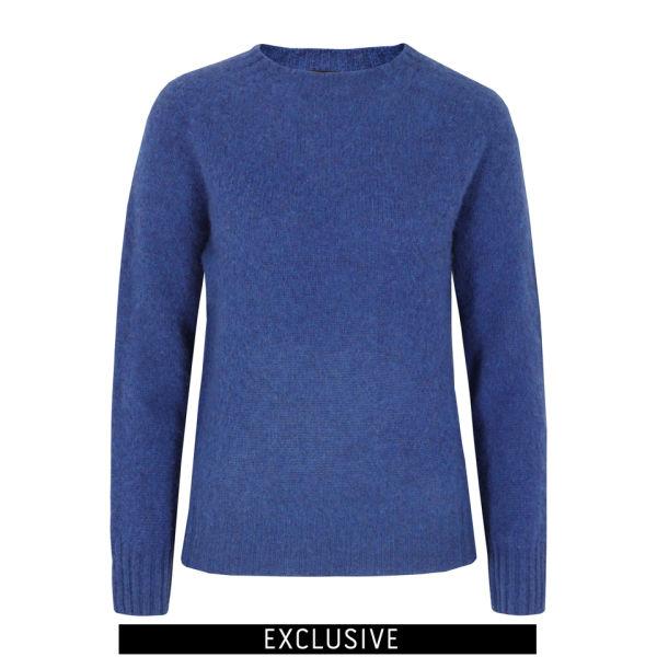 howlin 39 by morrison women 39 s babs bic knit blue free uk. Black Bedroom Furniture Sets. Home Design Ideas