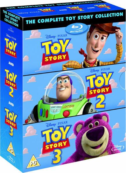 Toy Story 1 2 And 3 Blu Ray Zavvi Com