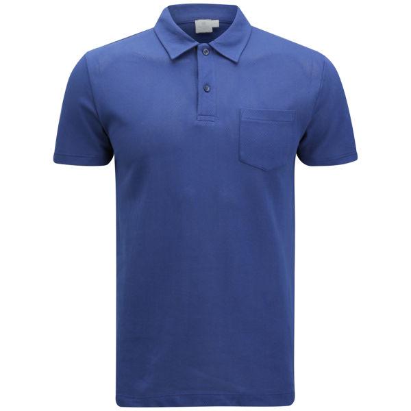 Sunspel men 39 s riviera polo shirt cobalt blue free uk for Cobalt blue polo shirt