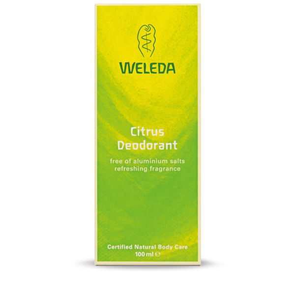 Weleda Women's Citrus Deodorant (100ml)