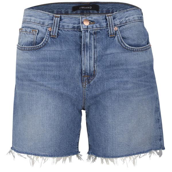 J Brand Women's Low Rise Drew Cut Off Shorts - Stellar