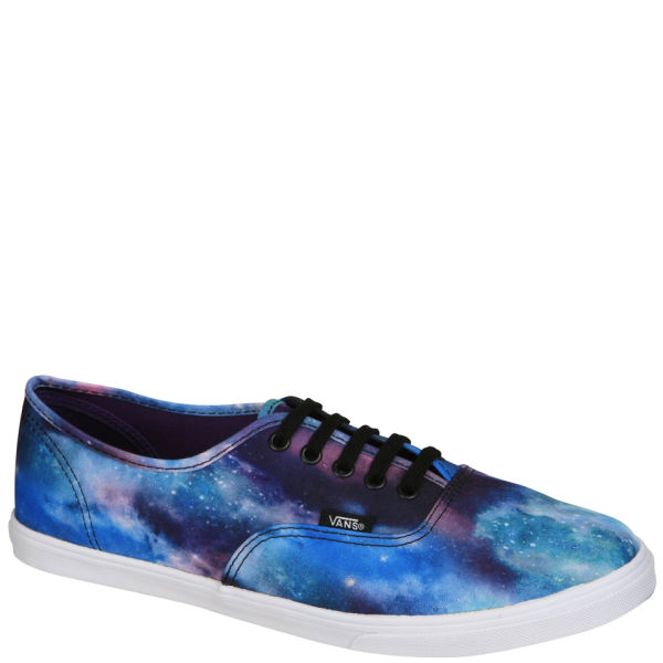 Vans Authentic Lo Pro Cosmic Galaxy Trainers - Black/True White