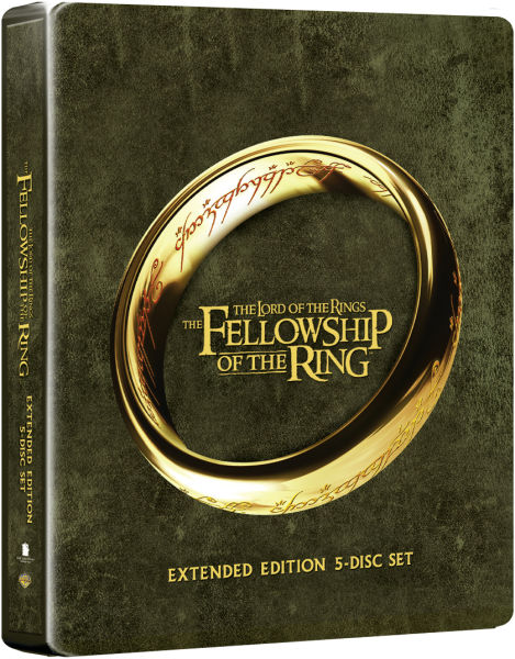 Lord of the Rings: Fellowship of the Ring - Extended Edition Steelbook (Includes UltraViolet Copy): Image 01
