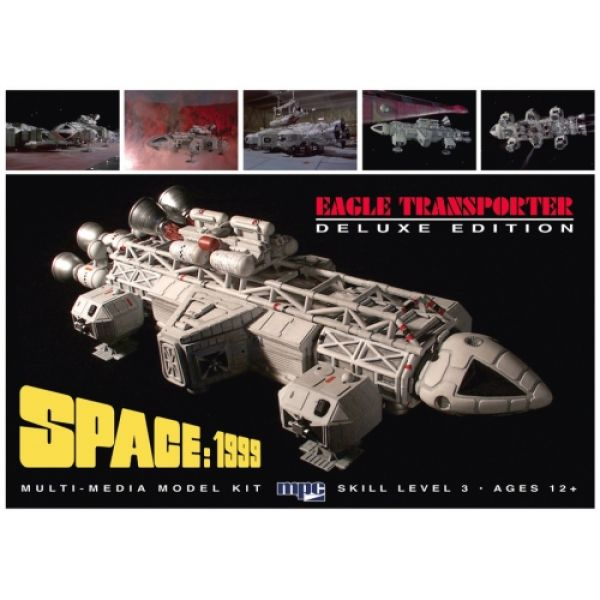 MPC Space 1999 Eagle-1 Deluxe Edition 1:72 Scale Model