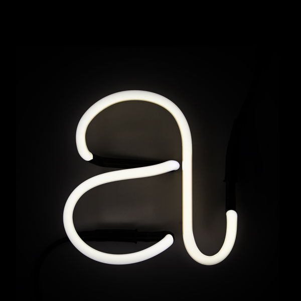 Seletti neon letter a iwoot for Large neon letters