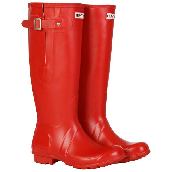 Hunter Women S Original Adjustable Wellies Red Free Uk