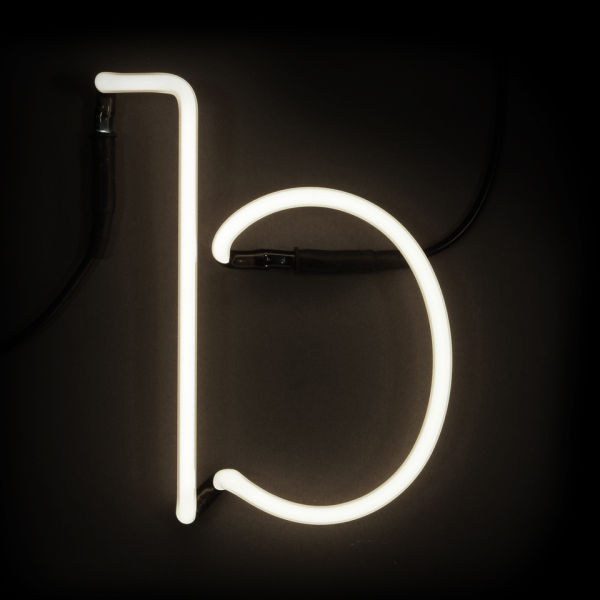 Seletti neon letter b free uk delivery over gbp50 for Large neon letters