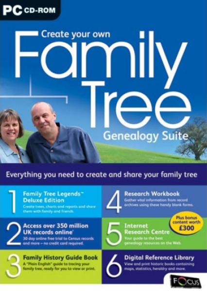 Create Your Own Family Tree Genealogy Suite Computing
