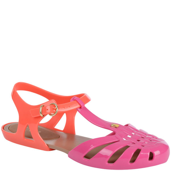 Melissa Women's Aranha Hits Jelly Sandals - Pink