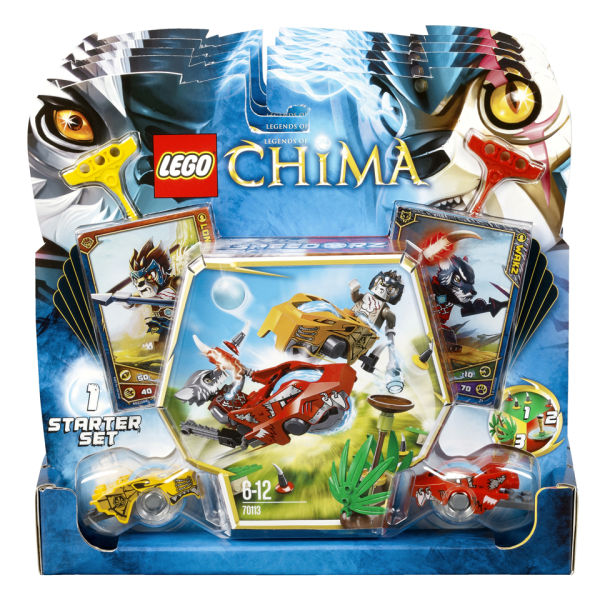 LEGO Legends of Chima: CHI Battles (70113) Toys | Zavvi.com