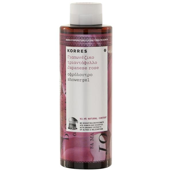 Korres Japanese Rose Showergel (250 ml)
