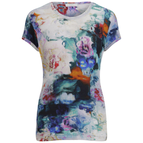 Paul by Paul Smith Women's Underwater Floral T-Shirt - Off White