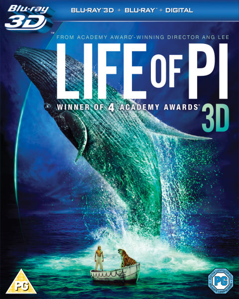 Life of pi 3d blu ray for Life of pi book characters