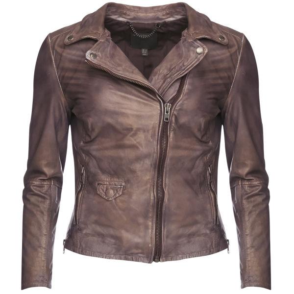 Muubaa Women's Lyme Biker Jacket - Copper