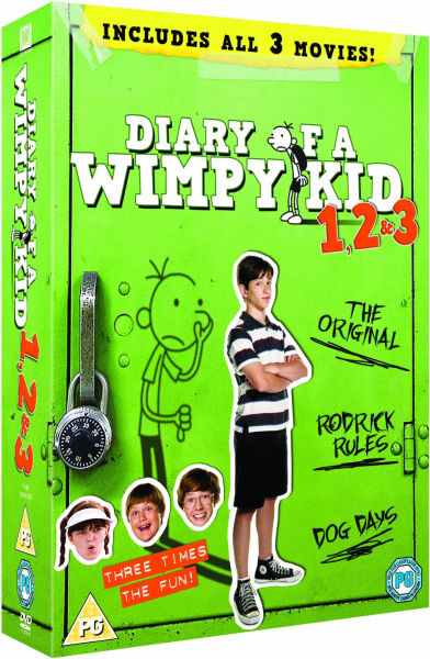 Back to previous page home diary of a wimpy kid 1 3 box set