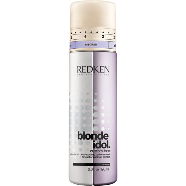 redken blonde idol shampoo 300ml and custom tone violet conditioner 196ml duo free delivery. Black Bedroom Furniture Sets. Home Design Ideas
